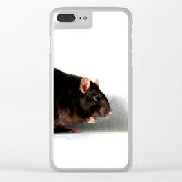 Rat Clear iPhone Case