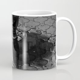 Walking through the puddles Coffee Mug