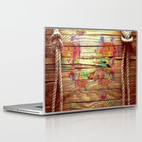 lions Laptop & iPad Skins featuring Colors & Lions by Bianca Sale