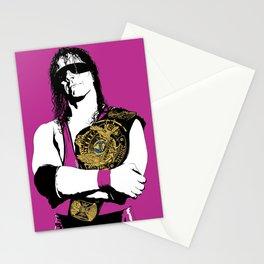 Bret Hart Stationery Cards