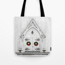 Christmas Door No 2 Tote Bag