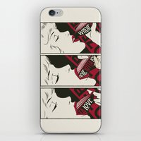 led zeppelin iPhone & iPod Skins featuring Porn Zeppelin by Butcher Billy