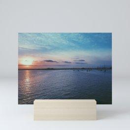 Bayfront Sunset Mini Art Print