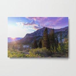 Purple Mountain Majesty, Kings Canyon Metal Print