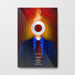 DAVID CRONENBERG SERIES :: SCANNERS Metal Print