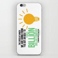 You Can Run a Billion Dollar Company iPhone & iPod Skin