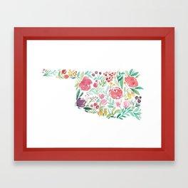 Bloomin' Oklahoma Framed Art Print
