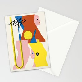 SPACE DAMES Stationery Cards