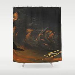 Spar Abstract Shower Curtain