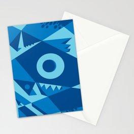 blue monster! Stationery Cards