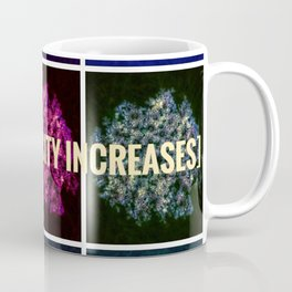 Floral Intensity Increases Coffee Mug