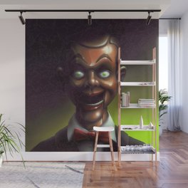 Night of the Living Dummy Wall Mural
