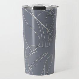 Monstera No2 Gray Edition Travel Mug
