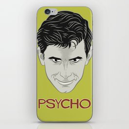 Psycho - Norman bates iPhone Skin