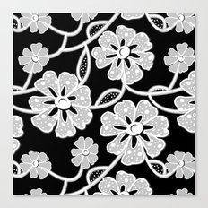 50's Lace Canvas Print