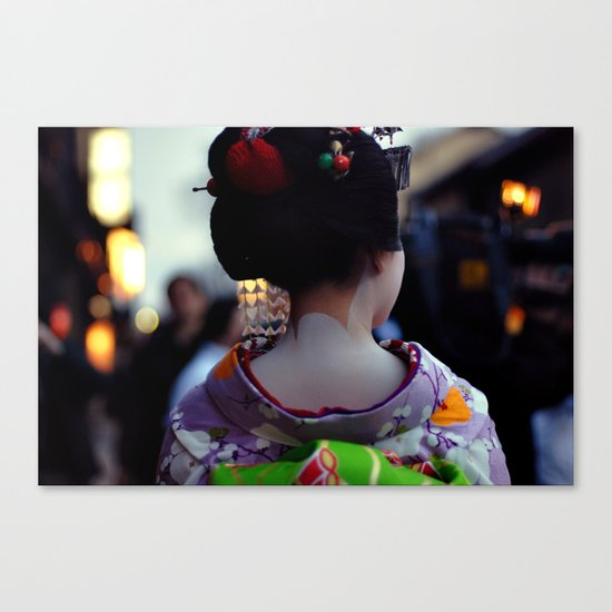 Geisha World Canvas Print