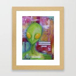 Fear Makes Strangers of Us All Framed Art Print