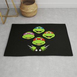 Ninja Turtles Rhapsody Rug