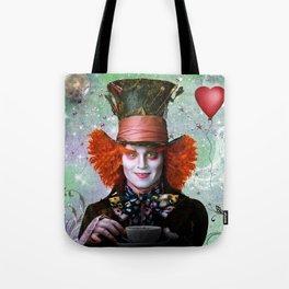 Alice in wonderland- Mad Hatter Tote Bag