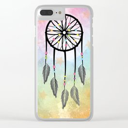 Sweet Dreams Dreamcatcher Clear iPhone Case