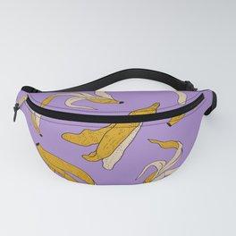 Bananas- purple Fanny Pack