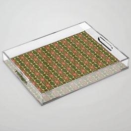 Ferns Acrylic Tray