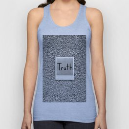 Truth Unisex Tank Top