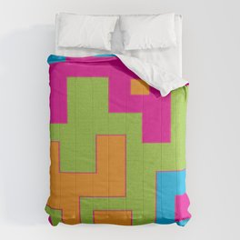 Modern Santa Fe Abstract Mosaic Comforters