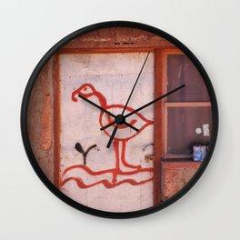 Pueblo de Machcuca Wall Clock