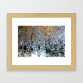 Out with Fall and In with Winter Framed Art Print