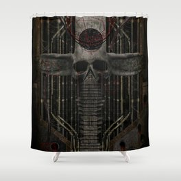The green god Shower Curtain
