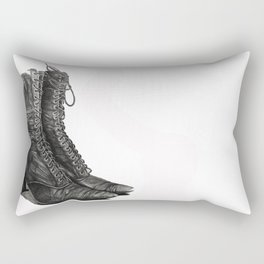 Florentine Boots Rectangular Pillow