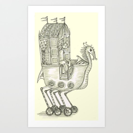 Strange Land Art Print