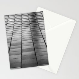 Black & White Scales Stationery Cards