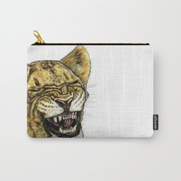 LAUGHING LION Carry-All Pouch