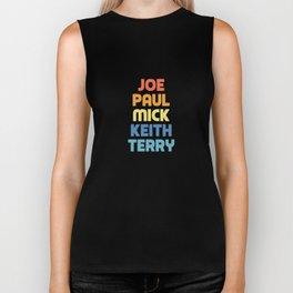 Joe Paul Mick Keith Terry Biker Tank