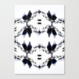 Crystal Birds Canvas Print