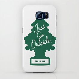 Just Go Outside iPhone Case