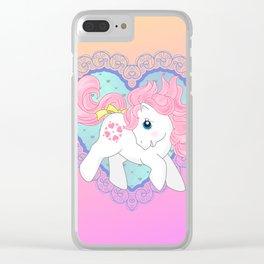 g1 my little pony baby Sundance Clear iPhone Case