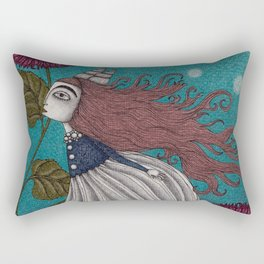 The Little Mermaid (1) Rectangular Pillow
