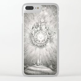 Moonlight Dream Caster Clear iPhone Case