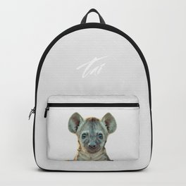 Baby Hyena Backpack