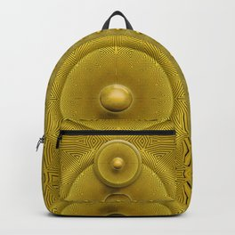 Golden Sunrise Pattern Backpack