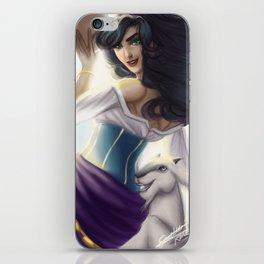 Esmeralda iPhone Skin