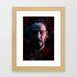 John Wick Framed Art Print