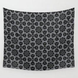 Sharkskin Floral Wall Tapestry