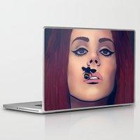 lana Laptop & iPad Skins featuring LANA Illustration by Caeli