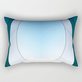 Abstract Sailcloth c3 Rectangular Pillow