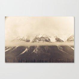 mt. lawson, kananaskis country, alberta Canvas Print
