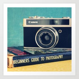 Beginners photography Art Print